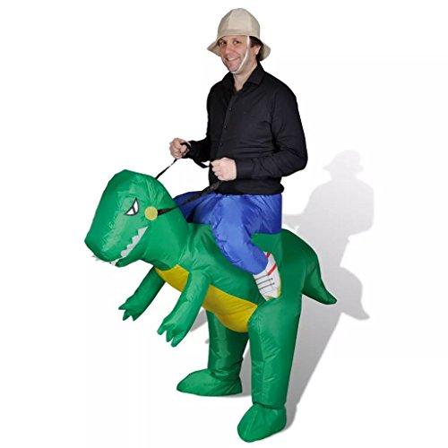 Kostüm Dinosaurier Verkleiden - tidyard Dinosaurier Dino Kostüm verkleiden Reitkostüm Dinosaur Abendkleid Aufblasbar Faschingkostüm Karneval Party