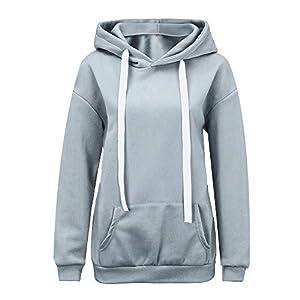 Resplend 2018 Kapuzenpulli Hoodie Herbst Sweatshirt mit Kapuze Einfarbig Rundhals Kapuzenpullover Mit Tasche
