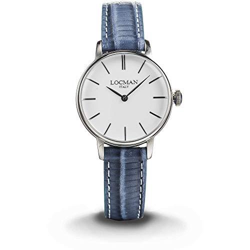 orologio solo tempo donna Locman 1960 casual cod. 0253A08A-00WHNKPS