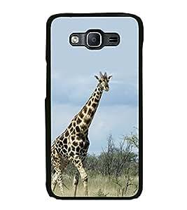 PrintVisa Tallest Animal High Gloss Designer Back Case Cover for Samsung Galaxy On5 (2015) :: Samsung Galaxy On 5 G500Fy (2015)