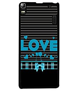 Fuson Designer Back Case Cover for Lenovo A7000 :: Lenovo A7000 Plus :: Lenovo K3 Note (designer pattern theme rangoli art )