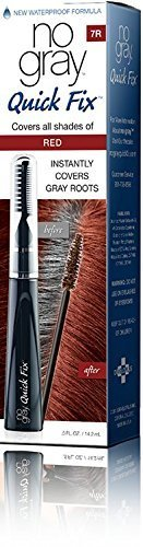 No Gray Quick Fix Instant Touch-Up for Gray Roots (Set of 1, Red) by Developlus Inc.
