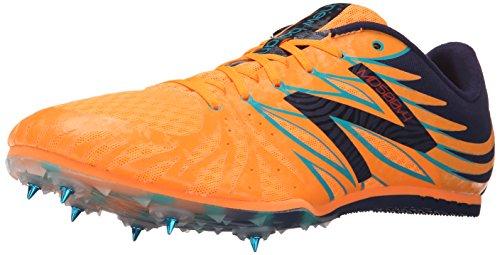 New Balance MD500v4 Mittlerer Abstand Laufen Spitzen - 47 Orange Herren Track Spikes