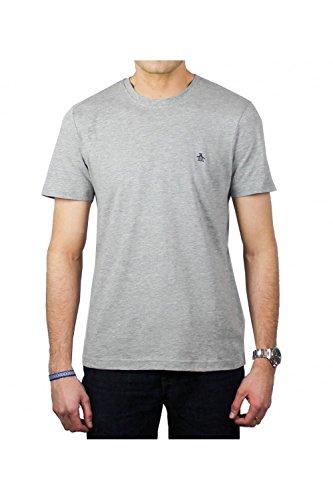 penguin-shirt-original-mens-plain-short-sleeve-t-shirt-new-rain-heather-l