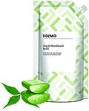 Amazon Brand - Solimo Handwash Liquid Refill, Neem & Aloe - 75