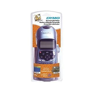 Dymo S0883980 LetraTag LT-100H Label Maker ABC Keyboard, Black/Blue