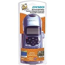 Dymo Letratag LT-100H - Impresora de etiquetas (13 caracteres, 8 estilos), color azul