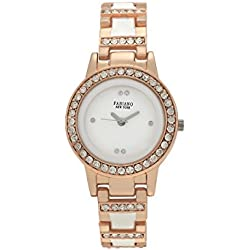 Fabiano New York Analogue White Dial Women'S And Girl'S Watch-Fny019