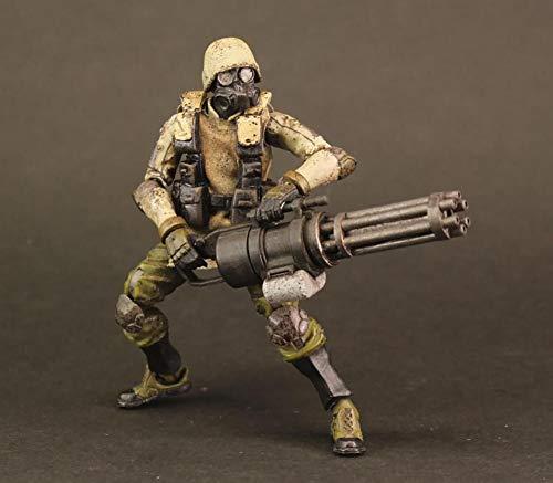 "AGURTS MILITARY Ori Toy ACID RAIN 2.5/"" Inch FIGURES 1:28 K6 JUNGLE SOLDIER SET"
