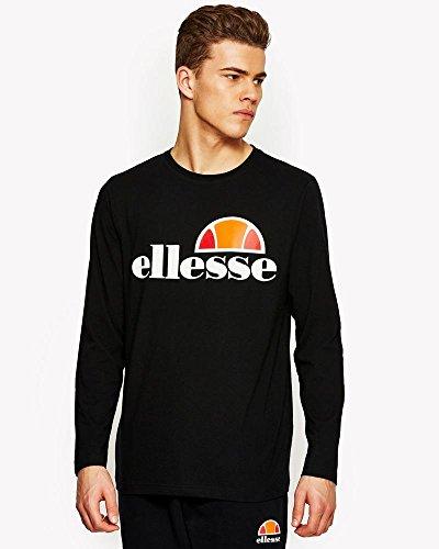 ellesse Herren Grazie Langarmshirt T-Shirt, Grau (Anthrazit), XL