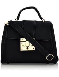 Mark & Keith Women Black Handbag (MBG 0321 BK)