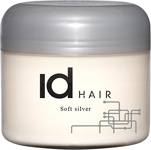 IdHAIR Soft Silver - Hair Wax, 1er Pack (1 x 100 ml)