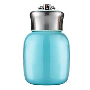 Thermos 200ML in acciaio inox a doppia parete borraccia Sport bottiglia di vuoto Thermos Travel Mug–Thermos per Baby bambini argento blu taglia unica Blu
