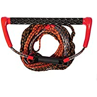 Jobe - Palonnier y cuerda de kneeboard Tow Hook Handle Red