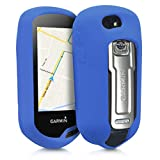 kwmobile Étui pour Garmin Oregon 700 / 750t / 600/650 - Housse de Protection en Silicone pour Navigateur GPS Pédestre - Bleu