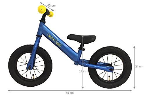 Vélo sans pédales ACC.Kid'zworld Bleu (années 2–4)