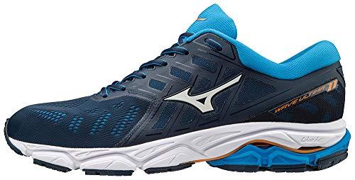 Mizuno Wave Ultima 11 Shoes Men Mazarine Blue/White/Brilliant Blue Schuhgröße UK 12 | EU 47 2019 Laufsport Schuhe