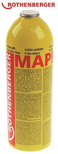 ROTHENBERGER Gasflasche für Schweißgerät POWER MAPP Propylen/Butan 750ml neu Propylen/Butan 750ml