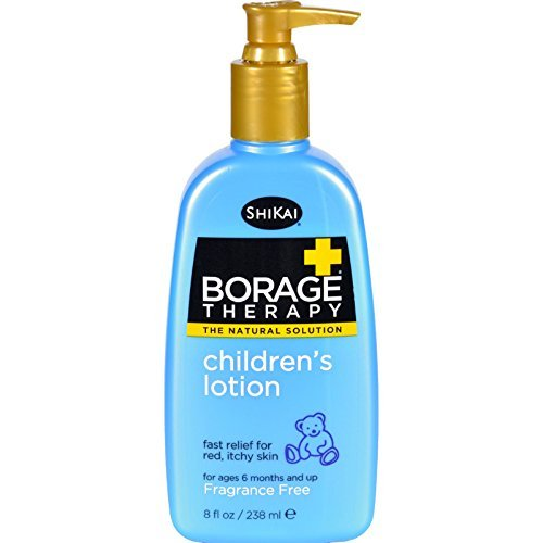 ShiKai Borage Therapy, Children's Lotion, Fragrance Free, 8-Ounce by ShiKai (English Manual)