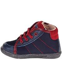 802e7106f8ec3 BALDUCCI Scarpe Baby Sneaker in Pelle blu 95052-BLU Blue