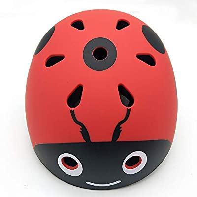 Kids Helmet,Boys and Girls Safety Comfortable Multi-Sport Bike Helmetfor Roller, Scooter, Skateboard, Bicycle,50-54cm from YAJAN