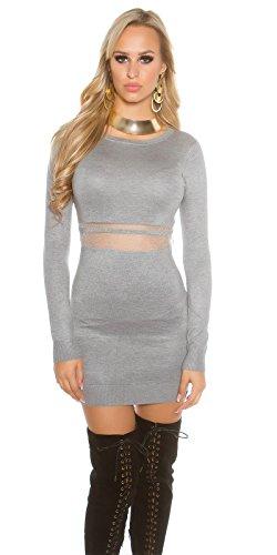 In-Stylefashion - Robe - Femme gris gris taille unique Gris