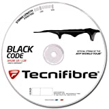 Tecnifibre Bobine de cordage de tennis Black Code