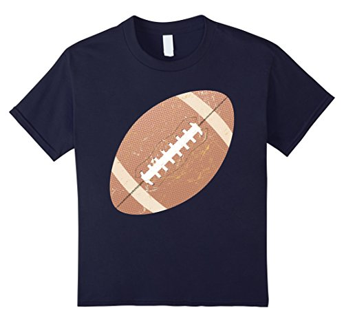 american-football-vintage-old-faded-t-shirt-kinder-grosse-140-navy