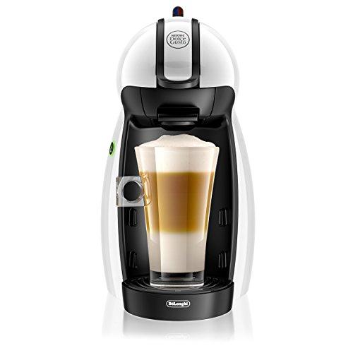 Nescafe Dolce Gusto De'Longhi Piccolo EDG100.W Macchina per Caffè Espresso e altre bevande, Bianco