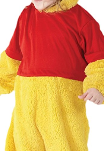 Confettery - Jungen Süßes Winnie Pooh Kostüm, Disney, Kinderkostüm, Fasching, Gelb