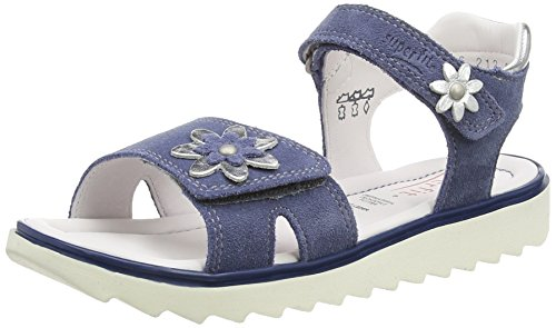 Superfit Elly, Sandales fille Bleu (moonlight Kombi 91)