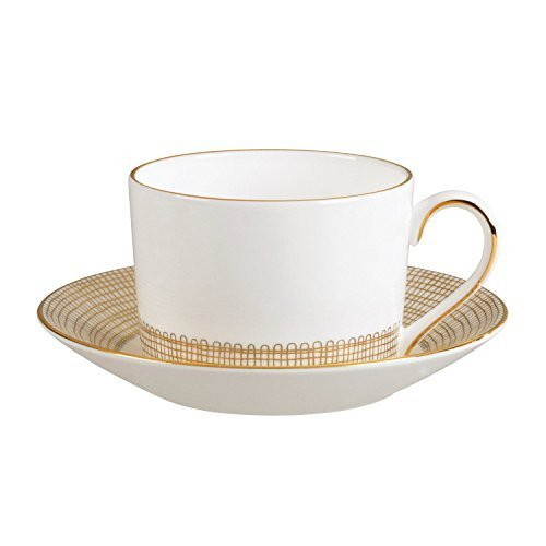 Wedgwood Gilded Weave Teacup Imperial by Wedgwood -