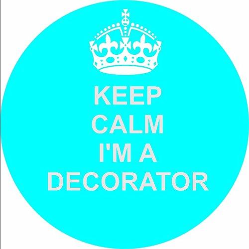 Decorator 12 cupcake commestibile, topper per dolci, 38 mm, 3,81 cm (1,5