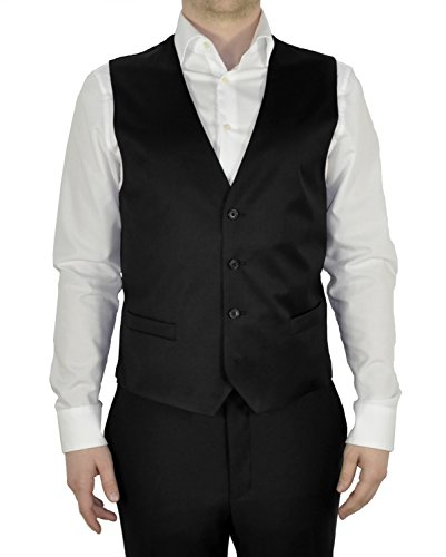 Michaelax-Fashion-Trade - Gilet - Uni - Homme Schwarz(99)