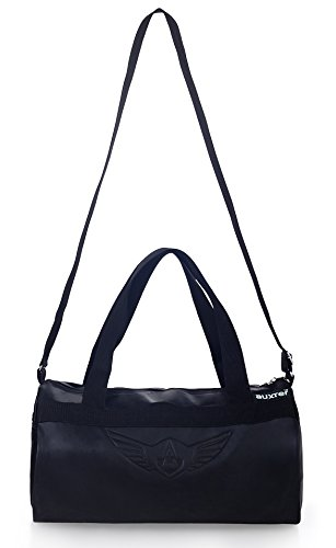 c8d4e4719b 30% OFF on AUXTER BLACKY Gym Bag Duffel Bag Emboss Logo ( Black ) on Amazon