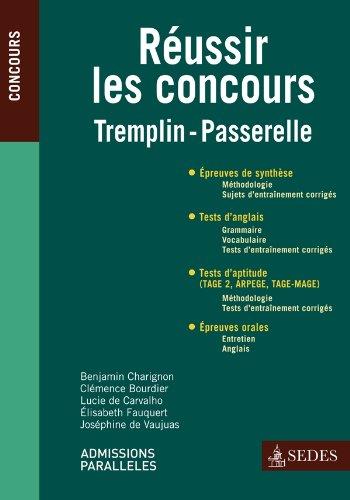 Réussir les concours - Tremplin - Passerelle