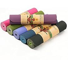 SIMYJOY ad alta densita antistrappo Eco Friendly tappetino per esercizi