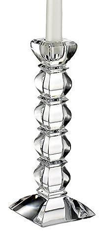 Waterford Marquis Phoenix Torino Bougeoir Paire cristal, 20cm, lot de