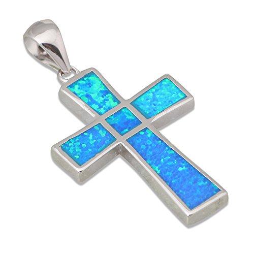925-sterling-silver-jewelry-vintage-silver-cross-blue-fire-opal-pendants-for-women-p284