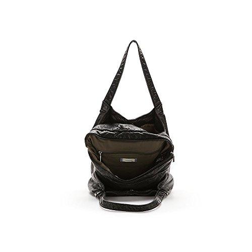 Abbacino Ss16 Trendy Lavandou, Borsa A Spalla Donna, Taglia Unica Nero (BLACK )