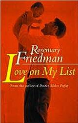 Love on My List (English Edition)