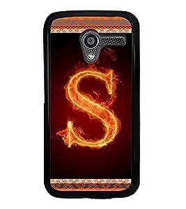 ifasho Designer Phone Back Case Cover Motorola Moto X :: Motorola Moto X (1st Gen) XT1052 XT1058 XT1053 XT1056 XT1060 XT1055 ( Star Black and White Pattern Design )