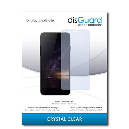 disGuard® Displayschutzfolie [Crystal Clear] kompatibel mit Siswoo I8 Panther [4 Stück] Kristallklar, Transparent, Unsichtbar, Extrem Kratzfest, Anti-Fingerabdruck - Panzerglas Folie, Schutzfolie