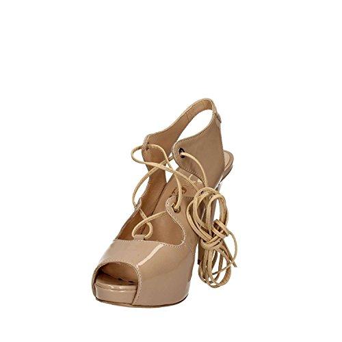 GRACE SHOES 320 Sandalo tacco Donna Nero