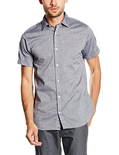 Jack & Jones Lynn, Chemise Business Homme Bleu (Chambray Blue)
