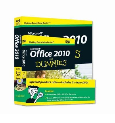 Portada del libro (Windows 7 and Office 2010 for Dummies [With 2 DVDs]) By Rathbone, Andy (Author) Paperback on (11 , 2010)