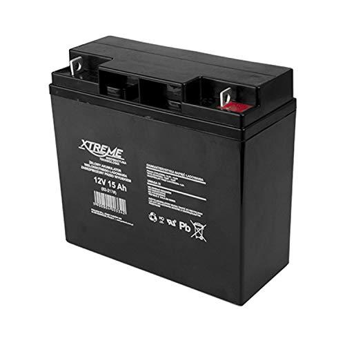 Xtreme - Batería de Movilidad de apoyo, de emergemcia, Batería del gel. Pila recargable. Acumulador  ● Resulta útil llevarlo siempre en tu barco o autocaravana. La puedes utilizar para una moto, un scooter o quad. ● Utiliza las baterías Xtreme para a...