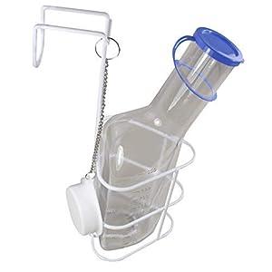 Urinflasche PC + Betthalter Top PC Qualität in glasklar von Medi-Inn