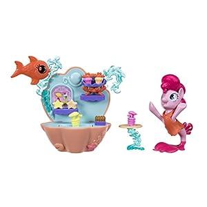 My Little Pony Juego de café de Juguete Marca Modelo Pinkie PIE, bajo el mar.