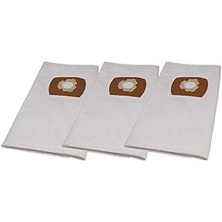 3 Premium Staubsaugerbeutel passend für Mauk NTS 25, 30